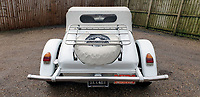 BNPS.co.uk (01202 558833)<br /> Pic: Mathewsons/BNPS<br /> <br /> Does this car still have Sweet Memories of its former owner? <br /> <br /> A flamboyant convertible sports car that belonged to legendary singer Roy Orbison has emerged for sale for £20,000.<br /> <br /> The white Excalibur Roadster dates back to 1970 and was bought from new by the Pretty Woman performer.<br /> <br /> He kept it for several years before his death in 1988 and it was bought by a British buyer three years later in 1991.<br /> <br /> It has since found its way to Britain and is now set to go under the hammer with auctioneers Mathewsons of Pickering, North Yorks.