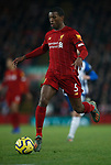 Georginio Wijnaldum of Liverpool during the Premier League match at Anfield, Liverpool. Picture date: 30th November 2019. Picture credit should read: Simon Bellis/Sportimage