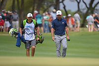 Xander Schauffele (USA) approaches the green on 1 during day 3 of the WGC Dell Match Play, at the Austin Country Club, Austin, Texas, USA. 3/29/2019.<br /> Picture: Golffile | Ken Murray<br /> <br /> <br /> All photo usage must carry mandatory copyright credit (© Golffile | Ken Murray)