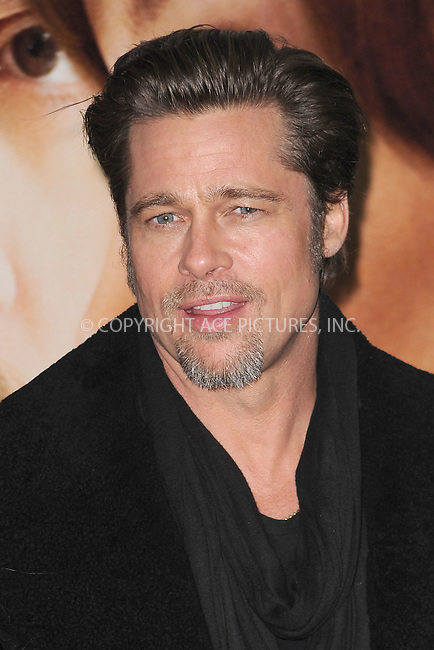WWW.ACEPIXS.COM . . . . . .December 6, 2010...New York City...Brad Pitt attends the World premiere of 'The Tourist' at Ziegfeld Theater on December 6, 2010 in New York City.....Please byline: KRISTIN CALLAHAN - ACEPIXS.COM.. . .Ace Pictures, Inc: ..tel: (212) 243 8787 or (646) 769 0430..e-mail: info@acepixs.com..web: http://www.acepixs.com .