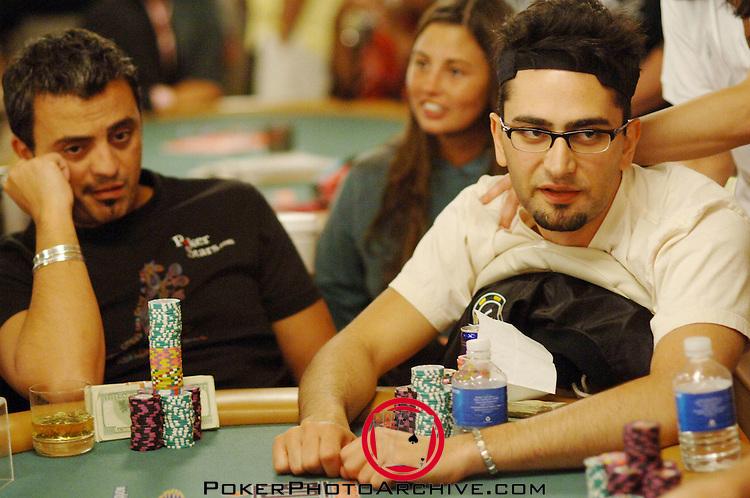 Hachem and Antonio Esfandiari at the same cash game