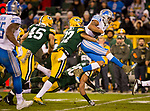 Green Bay Packers vs. Detroit Lions at Lambeau Field in Green Bay, Wis., on November 6, 2017. Detroit won 30-17.