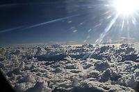 REGION ANDINA  -COLOMBIA. 13-12-2013.  Nubes en los cielos de la region andina entre Antioquia y Cundinamarca./ Clouds in the skies of the Andean region between Antioquia and Cundinamarca. . Photo:  Photo: VizzorImage/ Felipe Caicedo / Staff