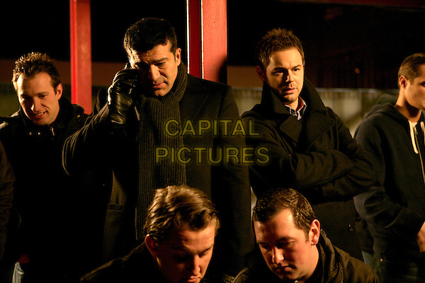 Tamer Hassan, Danny Dyer<br /> in Dead Man Running (2009) <br /> *Filmstill - Editorial Use Only*<br /> CAP/NFS<br /> Image supplied by Capital Pictures