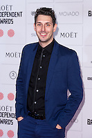 Blake Harrison arriving for the Moet British Independent Film Awards 2014, London. 07/12/2014 Picture by: Alexandra Glen / Featureflash