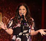 """Lindsay Mendez during her """"Returns"""" press preview on October 3, 2018 at Feinstein's/54 Below in New York City."""