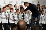 MADRID (08/11/2010).- Real Madrid players recieve new cars from Audi, team Sponsor. Karim Benzema...Photo: Cesar Cebolla / ALFAQUI