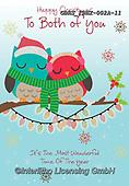 John, CHRISTMAS ANIMALS, WEIHNACHTEN TIERE, NAVIDAD ANIMALES, paintings+++++,GBHSFBHX-002A-11,#xa# ,owls,