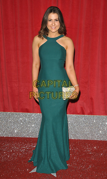Jasmine Armfield at the British Soap Awards 2017, The Lowry Theatre, Pier 8, Salford Quays, Salford, Manchester, England, UK, on Saturday 03 June 2017.<br /> CAP/CAN<br /> &copy;CAN/Capital Pictures