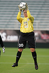 16 May 2008: Carolina's Anna Rodenbough. The Atlanta Silverbacks Women defeated the Carolina Railhawks Women 5-0 at WakeMed Stadium in Cary, NC in a 2008 United Soccer League W-League regular season game.