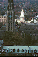 Harkness Tower, Yale Univ, New Haven, CT, Silliman college