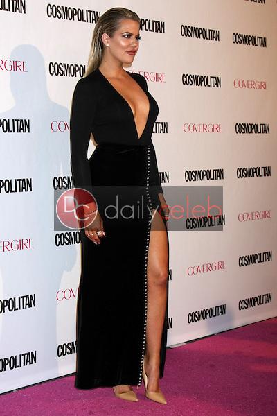 Khloe Kardashian<br /> at the Cosmopolitan Magazine's 50th Anniversary Party, Ysabel, Los Angeles, CA 10-12-15<br /> David Edwards/DailyCeleb.com 818-249-4998