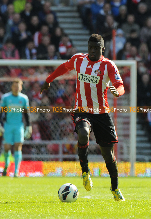 Alfred N'Diaye of Alfred N'Diaye - Sunderland vs Manchester United - Barclays Premier League Football at The Stadium of Light, Sunderland, Tyne & Wear - 30/03/13 - MANDATORY CREDIT: Steven White/TGSPHOTO - Self billing applies where appropriate - 0845 094 6026 - contact@tgsphoto.co.uk - NO UNPAID USE