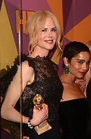 BEVERLY HILLS, CA - JANUARY 7: Nicole Kidman at the HBO Golden Globes After Party, Beverly Hilton, Beverly Hills, California on January 7, 2018. <br /> CAP/MPI/DE<br /> &copy;DE//MPI/Capital Pictures