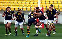 Julian Savea in action during the Mitre 10 Cup rugby match between Wellington Lions and Taranaki at Westpac Stadium in Wellington, New Zealand on Saturday, 27 August 2017. Photo: Mike Moran / lintottphoto.co.nz