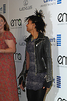 BURBANK, CA - OCTOBER 22: Willow Smith attends the Environmental Media Association 26th Annual EMA Awards Presented By Toyota, Lexus And Calvert at Warner Bros. Studios on October 22, 2016 in Burbank, California (Credit: Parisa Afsahi/MediaPunch).