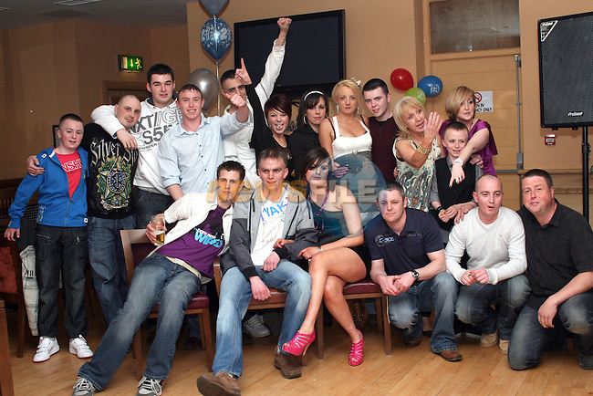 Jonathan Sweeney's 21st in The Thatch...Photo NEWSFILE/Jenny Matthews.(Photo credit should read Jenny Matthews/NEWSFILE)....This Picture has been sent you under the condtions enclosed by:.Newsfile Ltd..The Studio,.Millmount Abbey,.Drogheda,.Co Meath..Ireland..Tel: +353(0)41-9871240.Fax: +353(0)41-9871260.GSM: +353(0)86-2500958.email: pictures@newsfile.ie.www.newsfile.ie.FTP: 193.120.102.198.