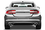 Straight rear view of a 2012 Jaguar XF Portfolio