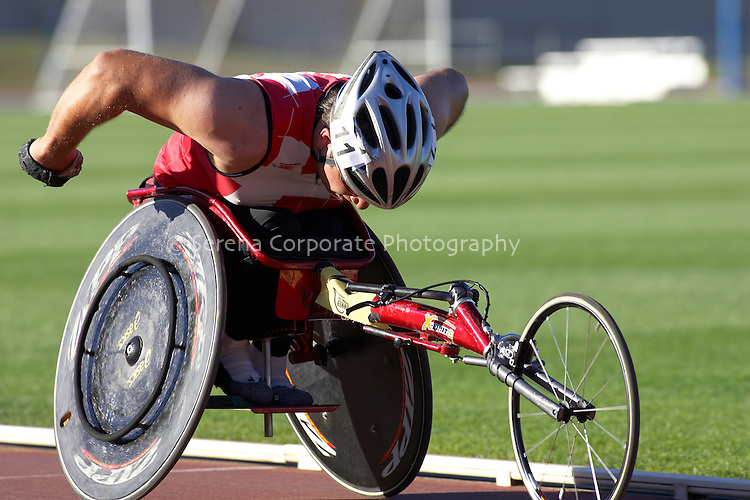 Summer Down Under 2010 Canberra Track Meet Men's T53/T54 A Final