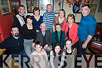 BIRTHDAY: Pat Mulvihill, Aughrim, Moyvane, celebrating his 80th Birthday at Kearneys Bar, Moyvane with family and friends on Friday night..