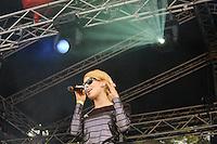 Frida Gold at Rock im Stadtpark 2011 in Magdeburg. Photo by Ruediger Knuth.