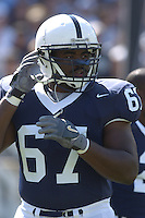 10 September 2005:  Levi Brown..Penn State defeated Cincinnati 42-24 September 10, 2005 at Beaver Stadium in State College, PA..