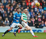 11.3.2018 Rangers v Celtic:<br /> Sean Goss and Scott Brown