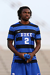 05 September 2015: Duke's Carter Manley. The Duke University Blue Devils hosted the Iona University Gaels at Koskinen Stadium in Durham, NC in a 2015 NCAA Division I Men's Soccer match. Duke won the game 2-1.