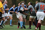 .The University of North Carolina Tar Heels played the Virginia Tech Hokies in a USA Rugby Women's College Rubgy Division I match. March 26, 2011 on the campus of the University of North Carolina in Chapel Hill, North Carolina.