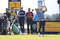 Yosuke Asaji (JPN) tees off the 2nd tee during Thursday's Round 1 of the 148th Open Championship, Royal Portrush Golf Club, Portrush, County Antrim, Northern Ireland. 18/07/2019.<br /> Picture Eoin Clarke / Golffile.ie<br /> <br /> All photo usage must carry mandatory copyright credit (© Golffile | Eoin Clarke)