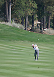 August 4, 2012:  Lee Janzen from Orlando, FL hits an approach shot on the 6th fairway during the third round of the 2012 Reno-Tahoe Open Golf Tournament at Montreux Golf & Country Club in Reno, Nevada.