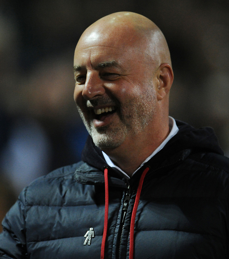 Bolton Wanderers manager Keith Hill <br /> <br /> Photographer Kevin Barnes/CameraSport<br /> <br /> The EFL Sky Bet League One - Bolton Wanderers v Blackpool - Monday 7th October 2019 - University of Bolton Stadium - Bolton<br /> <br /> World Copyright © 2019 CameraSport. All rights reserved. 43 Linden Ave. Countesthorpe. Leicester. England. LE8 5PG - Tel: +44 (0) 116 277 4147 - admin@camerasport.com - www.camerasport.com