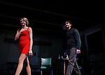 Guiding Light's Tom Pelphrey and Nina Arianda (curtain call) star in Broadway's Fool For Love on opening night - October 8, 2015 at the Samuel J. Friendan Theatre, 47th Street, New York City, New York with after party. (Photo by Sue Coflin/Max Photos)