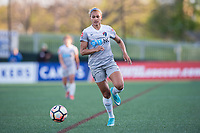 Boston, MA - Sunday May 07, 2017: Lynn Williams during a regular season National Women's Soccer League (NWSL) match between the Boston Breakers and the North Carolina Courage at Jordan Field.