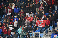 SAN JOSE, CA - DECEMBER 6: Stanford fans during a game between UCLA and Stanford Soccer W at Avaya Stadium on December 6, 2019 in San Jose, California.