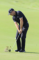 Sergio Garcia (ESP) chips into the 14th green during Thursday's Round 1 of the 2017 PGA Championship held at Quail Hollow Golf Club, Charlotte, North Carolina, USA. 10th August 2017.<br /> Picture: Eoin Clarke | Golffile<br /> <br /> <br /> All photos usage must carry mandatory copyright credit (&copy; Golffile | Eoin Clarke)