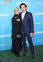 LOS ANGELES, CA - MARCH 6: Carla Ruffino, Nash Edgerton, at the World Premiere of Gringo at L.A. Live Regal Cinemas in Los Angeles, California on March 6, 2018. <br /> CAP/MPI/FS<br /> &copy;FS/MPI/Capital Pictures