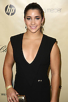BEVERLY HILLS, CA - JANUARY 13: Aly Raisman at the The Weinstein Company 2013 Golden Globes After Party at the Beverly Hilton Hotel in Beverly Hills, California on January 13, 2013. Credit:  MediaPunch Inc. /NortePhoto
