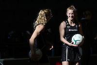 24.10.2015 Silver Ferns Shannon Francois in action during the Silver Ferns training head of their netball test match against the Australian Diamonds in Melbourne. Mandatory Photo Credit ©Michael Bradley.