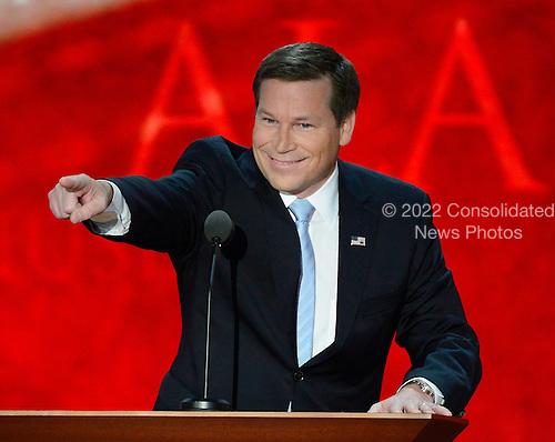 United States Representative Connie Mack (Republican of Florida) makes remarks at the 2012 Republican National Convention in Tampa Bay, Florida on Thursday, August 30, 2012.  .Credit: Ron Sachs / CNP.(RESTRICTION: NO New York or New Jersey Newspapers or newspapers within a 75 mile radius of New York City)