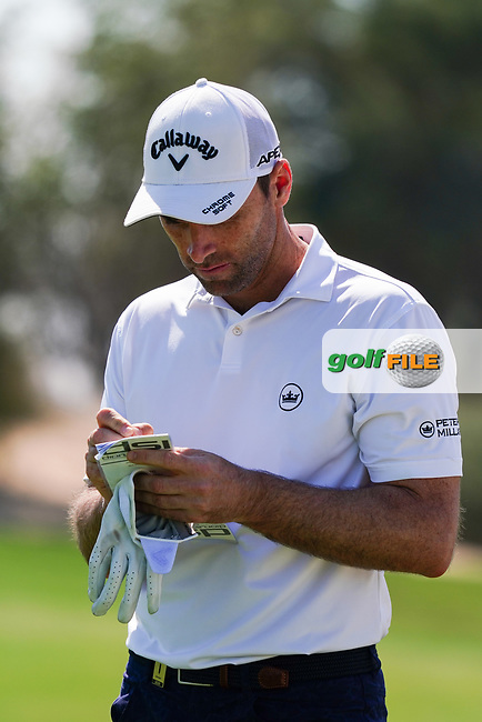 Oliver Wilson (ENG) on the 17th during Round 1 of the Commercial Bank Qatar Masters 2020 at the Education City Golf Club, Doha, Qatar . 05/03/2020<br /> Picture: Golffile   Thos Caffrey<br /> <br /> <br /> All photo usage must carry mandatory copyright credit (© Golffile   Thos Caffrey)