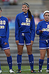 14 November 2014: South Dakota State's Brianna Ismale. The University of North Carolina Tar Heels hosted the South Dakota State University Jackrabbits at Fetzer Field in Chapel Hill, NC in a 2014 NCAA Division I Women's Soccer Tournament First Round match. UNC won the game 2-0.