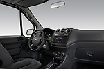 Passenger side dashboard view of a 2010 Ford Transit XL Wagon