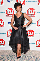 LONDON, UK. September 10, 2018: Jaye Jacobs at the TV Choice Awards 2018 at the Dorchester Hotel, London.<br /> Picture: Steve Vas/Featureflash