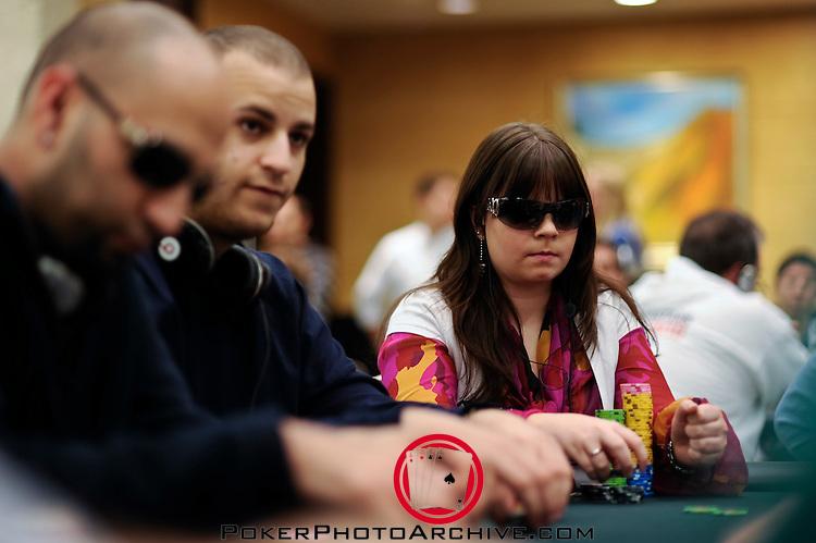 Sorel Mizzi and Annette Obrestad