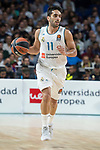 Real Madrid Facundo Campazzo during Turkish Airlines Euroleague match between Real Madrid and CSKA Moscu at Wizink Center in Madrid, Spain. October 19, 2017. (ALTERPHOTOS/Borja B.Hojas)