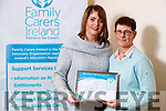 Liz Forde, Ardfert, who won the Carer of the Year Award with Manager of the Carers Association of Kerry, Karen Gearon