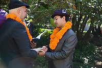 Justin and Aman, Ceremony