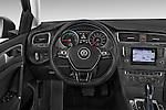 Car pictures of steering wheel view of a 2015 Volkswagen Beetle 1.8T Conv. auto 2 Door Convertible