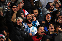 Argentina fans during the Rugby Championship match between the NZ All Blacks and Argentina Pumas at Yarrow Stadium in New Plymouth, New Zealand on Saturday, 9 September 2017. Photo: Dave Lintott / lintottphoto.co.nz